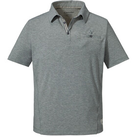 Schöffel Kochel1 Polo Shirt Men silver filigree